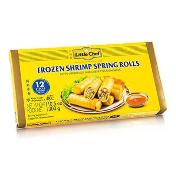 Jarní závitky 'Shrimps', malé, s rybou a surimi, 12 x 25g ...