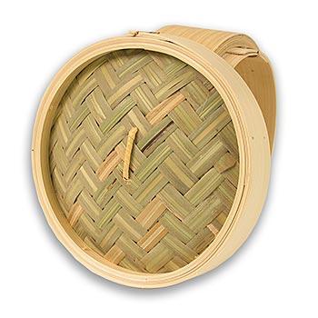 Horní část bambusového pařáku, průměr 17cm vnější, vnitřní o 15cm, 6,5 palců, ks
