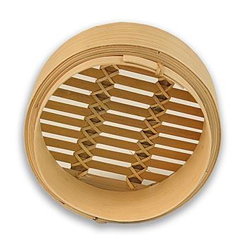 Spodní část bambusového pařáku, o 15 cm vnější, o 13 cm vnitřní, 6 palců, ks