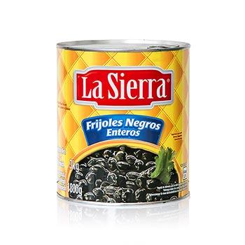 Fazole černé mexické, předvařené, 3 kg