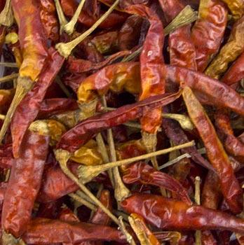 Chilli papričky, sušené, 100 g