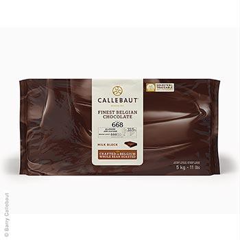 Mléčná čokoláda, řídká, v bloku, 33% kakaa, 5 kg