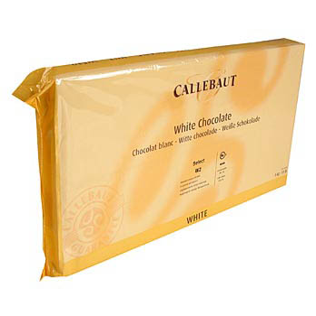 Bílá čokoláda, 28% kakaového másla, 23% mléka, blok, 5 kg
