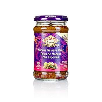 "Curry pasta ""Madras"", ostrá, od fy. Patak, 283 g"