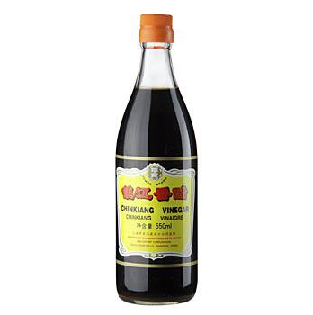 Černý rýžový ocet - Chinkiang Vinegar, Jumbo Brand, Čína, 550 ml