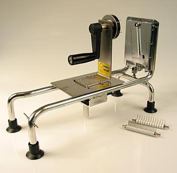 Stroj na krájení zeleniny, z nerezové oceli, bez svorky, Le Rouet, ks