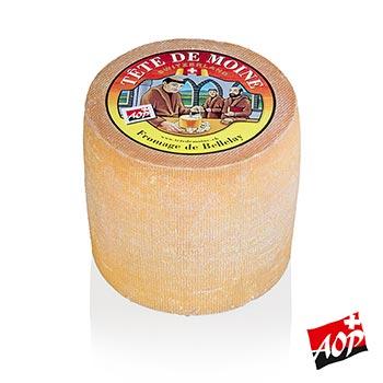Sýr Tete de Moine - Hlava mnicha, celý bochník, cca 1 kg