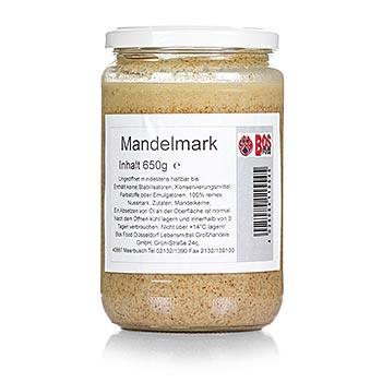 BOS FOOD mandlová dřeň, 100% dřeň bez přísad, 650 g
