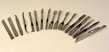 Sada asijských nožů 17-dílná, sada