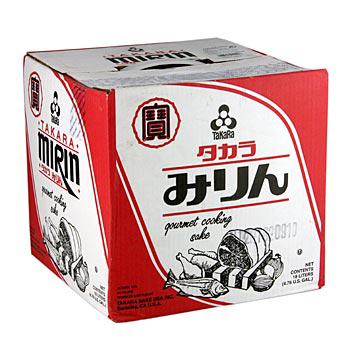 Mirin - sladké rýžové víno, alkoholické koření, 18 l