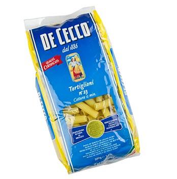 De Cecco Tortiglioni, No.23, 500 g