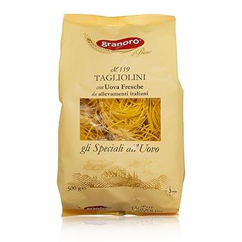 Granoro Tagliolini Ei & Nidi, 2mm, No.119, 500 g