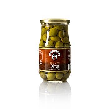 Zelené olivy, bez pecky, Raffinesse, 370 g
