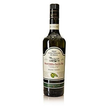 Santa Čaj olivy - Fruttato Intenso extra panenského olivového oleje, zelených oliv výběr, 750 ml