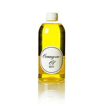 Pomerančový olej - řepkový olej s pomerančem, 500 ml