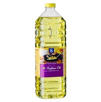 Sójový olej Asia, z geneticky modifikované sóji, 1 l