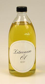 Citronový olej - řepkový olej s citrónem, 500 ml