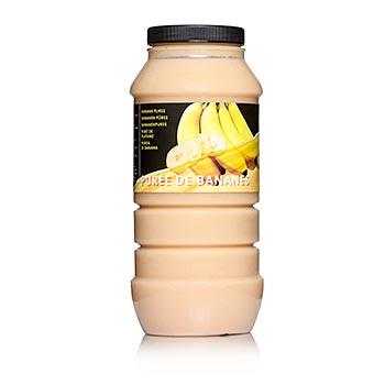 Banánové pyré, 10% cukru, 1 kg