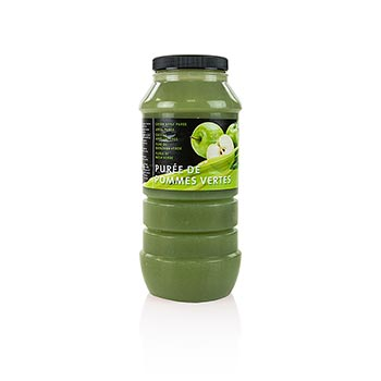 Zelené jablečné pyré, 10% cukru, 1 kg