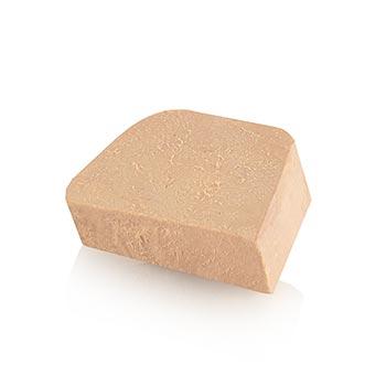 Kachní játra s kousky bloku, lichoběžník, polokonzerva, 98% foie gras, Rougié, 500 g