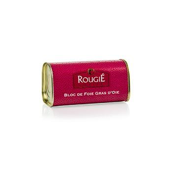 Husí játra blok, lichoběžník, 98% játra foie gras, Rougié, 210 g