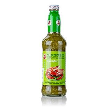 Zelená chilli omáčka na mořské ryby a plody, 720 ml