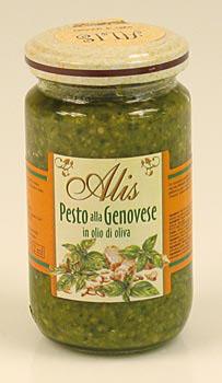 Pesto Genovese, bazalková omáčka, Alis, 180 g