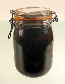 Černé vlašské ořechy, v celku, v sirupu kg, Orange & vanilka, A. Eisenberger, sezóna, 1,3