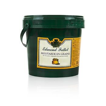 Dijonská hořčice, hrubozrnná, Fallot, 1000 ml