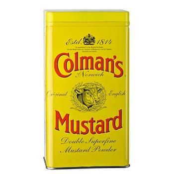 Hořčice - prášek, Colman-Anglie, 454 g
