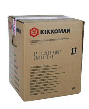 Sojová omáčka - Shoyu, s nízkým obsahem soli, Kikkoman, Japonsko, 20 l