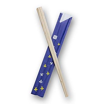 Sushi japonské hůlky na jedno použití, vyrobené ze dřeva, 20 cm dl., 40 párů