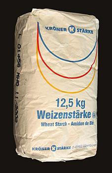 Pšeničný škrob - pšeničný prášek, 12,5 kg