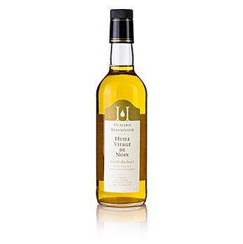 Olej z vlašských ořechů Huilerie Beaujolaise, výběr panenský, 500 ml