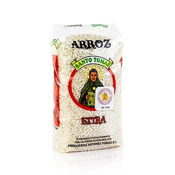 Arroz rýže, kulatozrnná rýže na paellu nebo mléčnou rýžovou kaši, ze Španělska, 1 kg