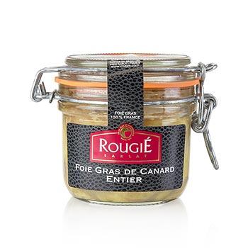 Kachní játra - Entier, 100 % Foie Gras, Rougié, 180 g