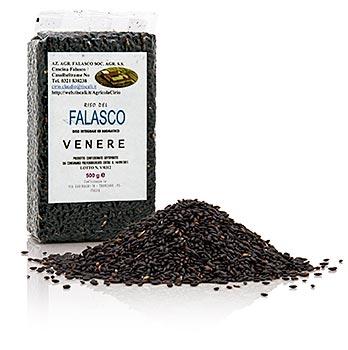 Černá rýže - Venere, z Piemontu, vhodná pro rizoto, 500 g