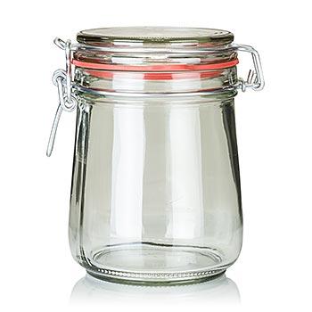 Zavařovací sklenice s pérem - Bocal 800 ml, kulatá, ks