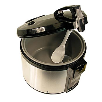Hrnec na vaření rýže, kovový, 4,6 l, SR-4600, ks