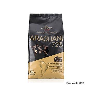 "Araguani , ""Grand Cru"", tmavá poleva, pecky, 72% kakaa z Venezuely, 3 kg"