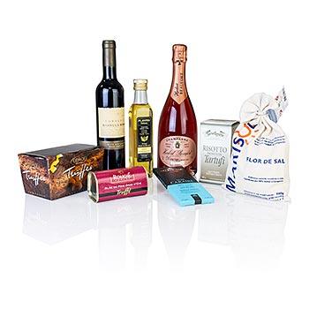 Luxusní dárkové balení - Lanýže/Šampaňské, Set