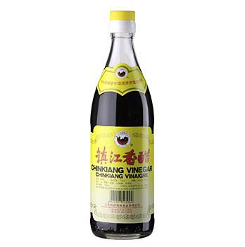 Černý rýžový ocet - Chinkiang Vinegar, Plum-Gold, Čína, 550 ml