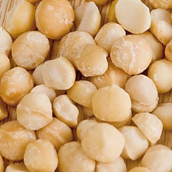 Macadamia ořechy, celá jádra, solená přírodní mořskou solí, 1 kg
