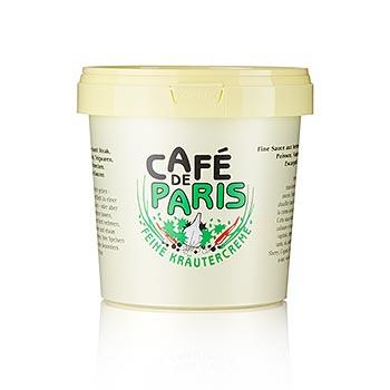 Bylinkový krém - Cafe de Paris, se rostlinnými tuky, bylinkami a máslem, 1 kg