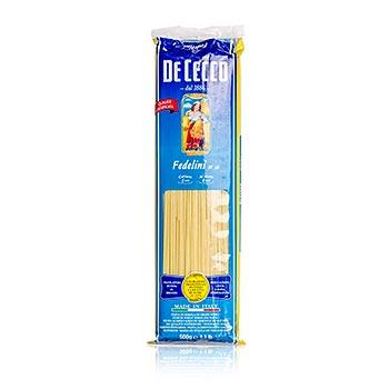 De Cecco Fedelini, č. 10, 500 g