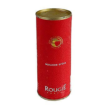Mousse z kachních jater, 25% játra foie gras, Rougié, 320 g
