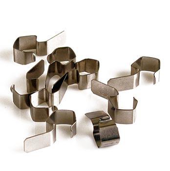 Svorky pro zavařovací sklenice na vyklopení, Weck, 8 ks