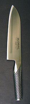 Globální G-46 Santuko nůž na zeleninu, ryby a maso, 18 cm, zašpičatělý, St