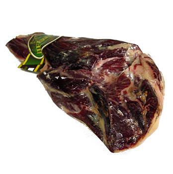 BOS FOOD - Pata Negra, 100% Jamon Iberico Recebo, celá šunka bez kosti, cca 7 kg