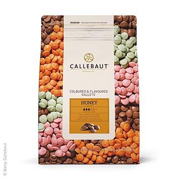 Mléčná čokoláda s medem, jako pecky, 32,8% kakaa, 2,5 kg